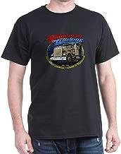 CafePress Snowman Trucking Classic 100% Cotton T-Shirt