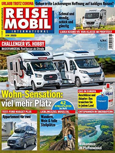 """Reisemobil International 6/2020 \""""Wohn-Sensation: viel mehr Platz\"""""""
