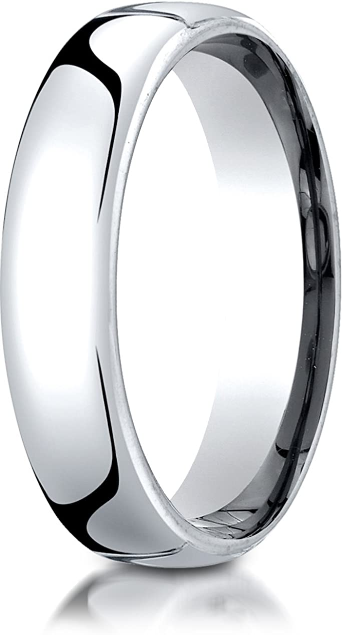 Benchmark 10K White Gold 5.5mm Band Max Brand Cheap Sale Venue 69% OFF Wedding Comfort-Fit European