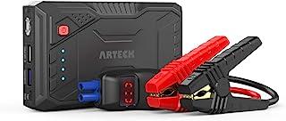 Arteck 800A ジャンプスターター エンジンスターター ポータブル充電器 スマホQC3.0急速充電器 QDSP 12V車用 バッテリ ブースターパック 最大で6.5Lガソリン 4.0Lディーゼル 24ヶ月保証付【日本語取扱説明書付き】