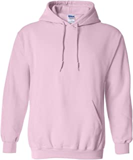 Gildan 18500 - Classic Fit Adult Hooded Sweatshirt Heavy Blend - First Quality - Light Pink - Medium