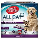 Simple Solution Almohadillas de Entrenamiento para Perros y Cachorros Premium, con Aroma de Lavanda (Pack de 50)