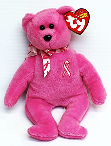 Mercancía de alta calidad y servicio conveniente y honesto. TY Beanie Baby Hope Breast Breast Breast Cancer Awareness Bear  mejor reputación