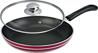 SHEFFIELD CLASSIC Fry pan with lid 240 mm (SH-4002) INDUCTION NS 3.6 MM (brown)