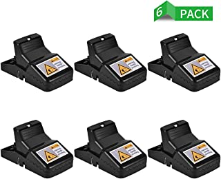 Authenzo Mouse Rats Trap, Rats Mice Trap That Work Human Power Mouse Killer 100% Mouse Catcher, Quick Effective Sanitary, Safe for Families and Pet, 6 Pack