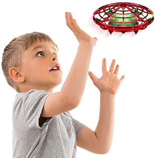 AMERTEER Hand Operated Drone for Kids Toddlers Adults - Hands Free Mini Drones for Kids Flying Gift Toys for Boys and Girl...