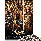 YITUOMO Rompecabezas de 300 piezas para adultos o adolescentes, póster de película Wonder Woman Puzzle clásico juguetes educativos DIY regalo divertido juego 38 x 26 cm
