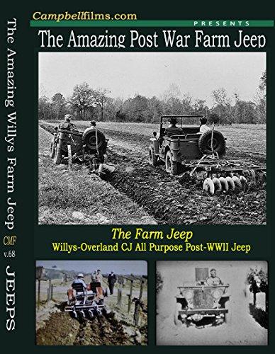 The Farm Jeep DVD CJ CJ2 CJ2A Post WW2 Very Rare old Films not MB GPW or G503