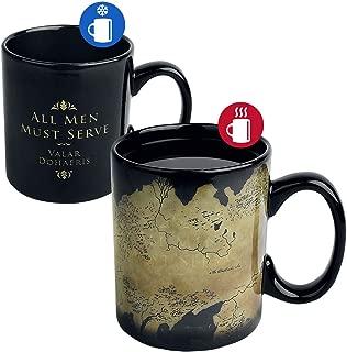 Game of Thrones Heat Change Mug Map Half Moon Calici Tazze