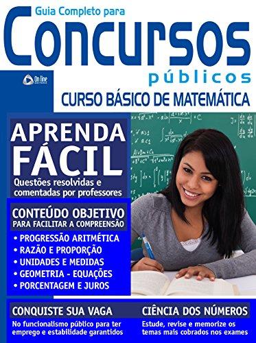 Guia para Concursos Públicos 11 – Matemática