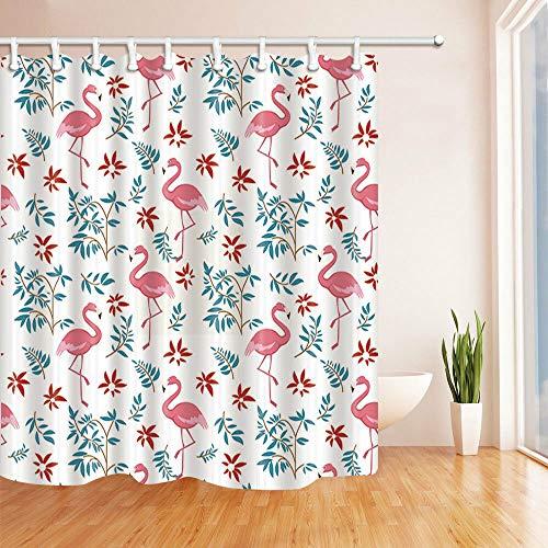 cortinas de baño hojas