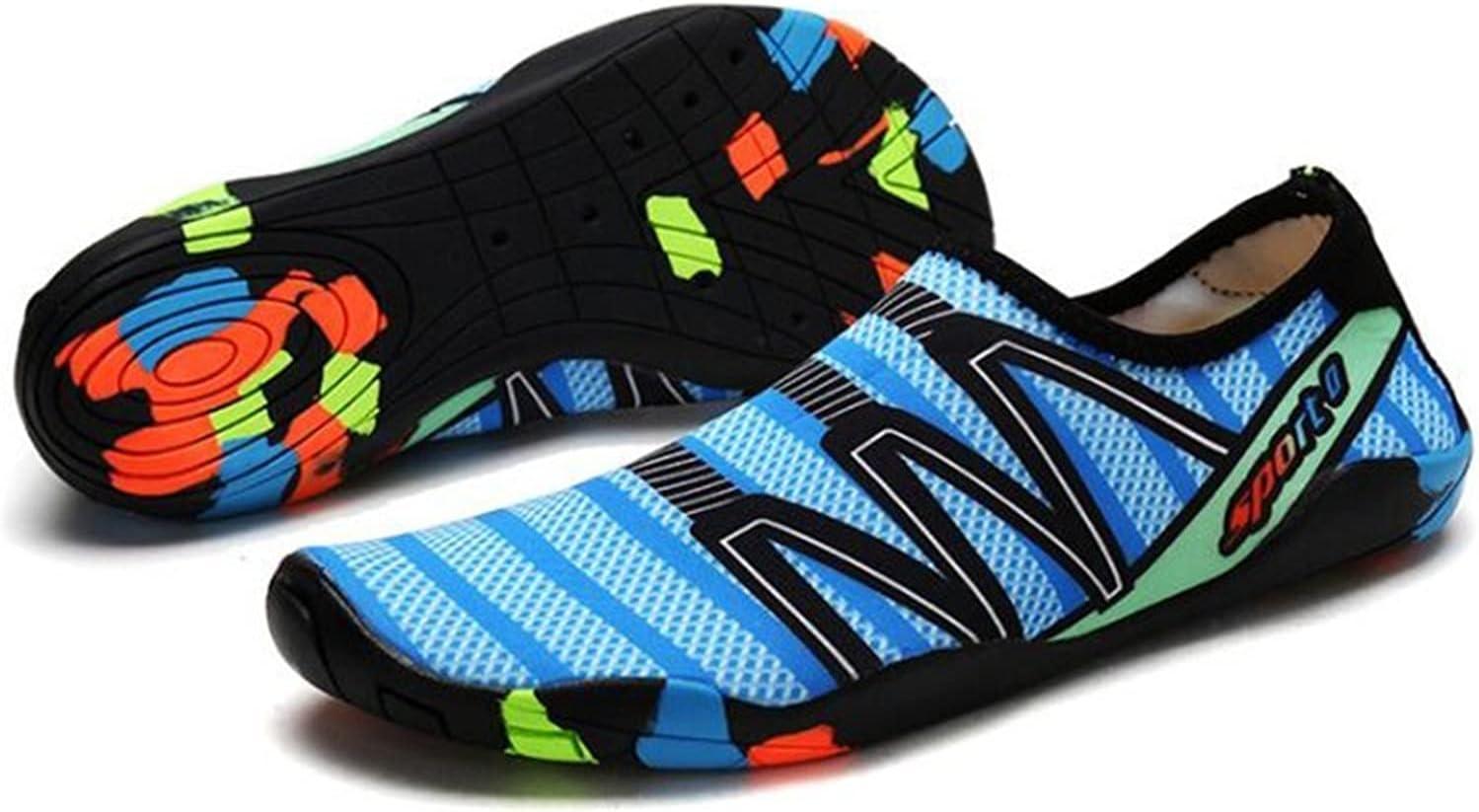 CLNYRO Men Women Aqua Shoes Japan Maker Max 81% OFF New Footwear Dry Quick Sneakers Swimming