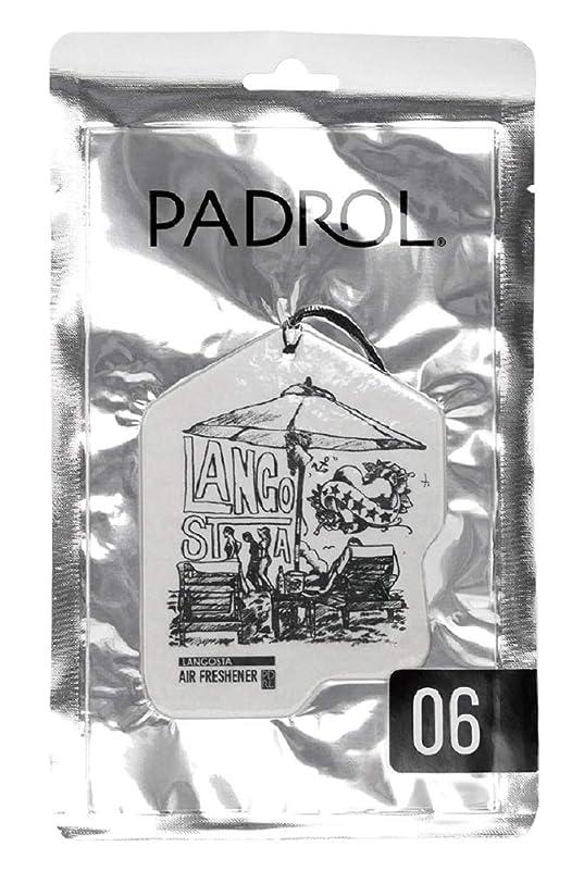 命令的音移行するノルコーポレーション ルームフレグランス エアーフレッシュナー パドロール 吊り下げ LANGOSTA PAD-5-06 ぶどうの香り 1枚