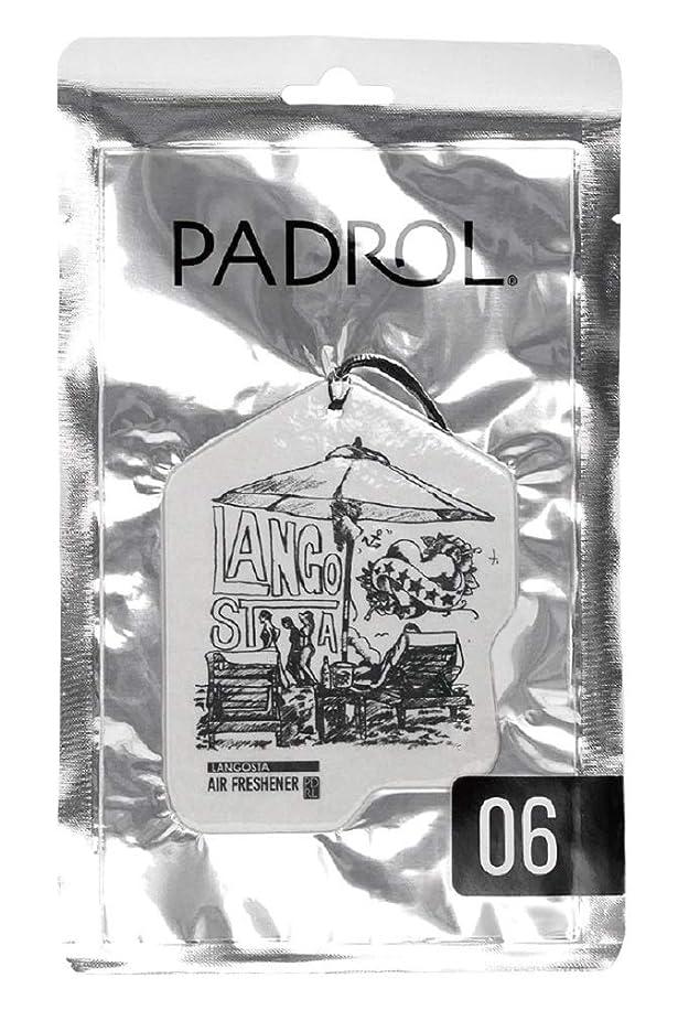 を通して賞賛フェザーノルコーポレーション ルームフレグランス エアーフレッシュナー パドロール 吊り下げ LANGOSTA PAD-5-06 ぶどうの香り 1枚