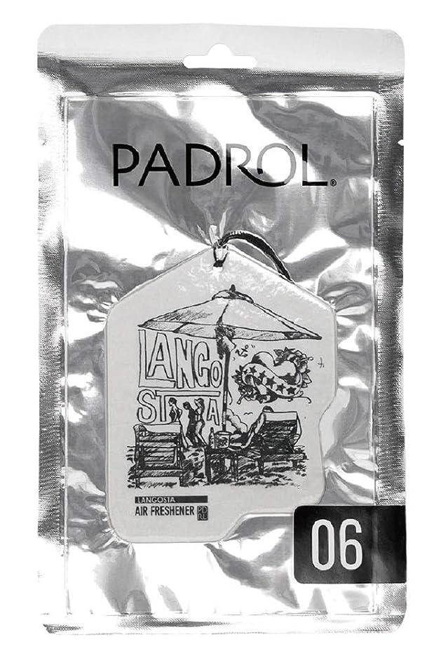 期限クロス重量ノルコーポレーション ルームフレグランス エアーフレッシュナー パドロール 吊り下げ LANGOSTA PAD-5-06 ぶどうの香り 1枚