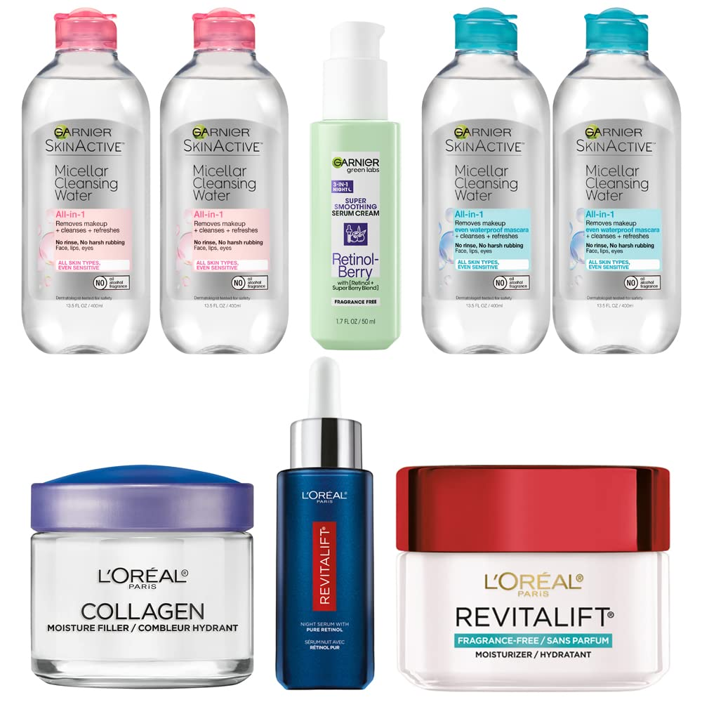 Up to 28% off Skin Care from L'Oreal Paris, Garnier and more