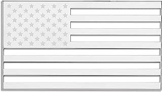 Cruiser Accessories 83083 Chrome American Flag 3D-Cals Raised Adhesive Decal