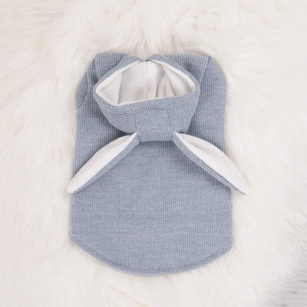 GPPZM Autumn Cute OFFicial Superlatite shop Rabbit Ear Clothe Cats Pet Dog Winter