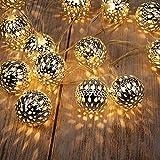Guirlande GIGALUMI Guirlande Lanterne Marocaine Blanche 20 Lm