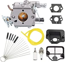 Highmoor 530071987 Carburetor for Husqvarna 36 41 136 137 137E 141 142 141LE 142E Chainsaw Zama C1Q-W29E Walbro WT-834 WT-657 WT-529 WT-289 WT-285 WT-239 WT-202 Carb