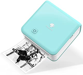 300DPI Mini Thermal Printer - Phomemo M02 Pro Bluetooth Pocket Printer Portable Inkless Photo Printer Compatible with iOS...