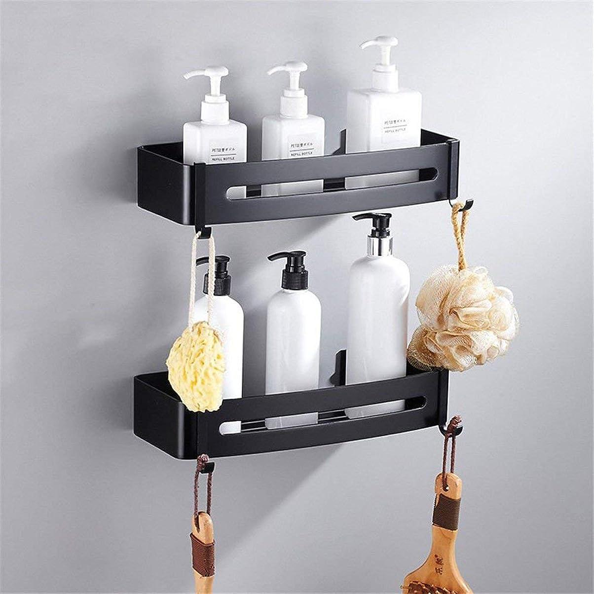 楕円形リダクターまでタオル掛けハンガー パンチ風呂金具からアルミ製バスルームタオルラックまでセット可能 家庭用バスルーム (色 : Shelf3)