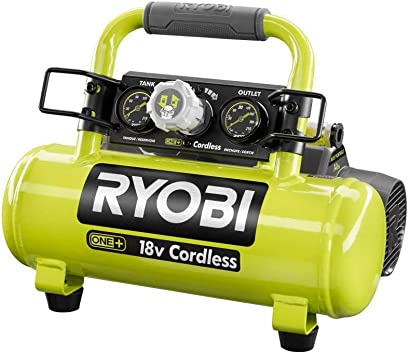Ryobi 18-Volt ONE+ Cordless 1 Gal. Portable Air Compressor (Tool Only): image