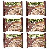 Fideos o noodles instantáneos Yum Yum sabor ternera - pack 6 unidades