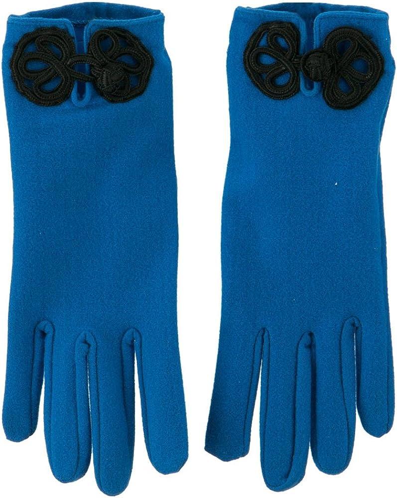 Women's Chinese Latch Glove - Royal