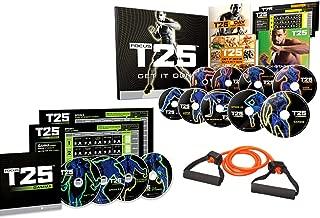 BQN Uode Focus T25 Shaun T's DVD Workout Program Alpha + Beta+Gamma Workout Exercise