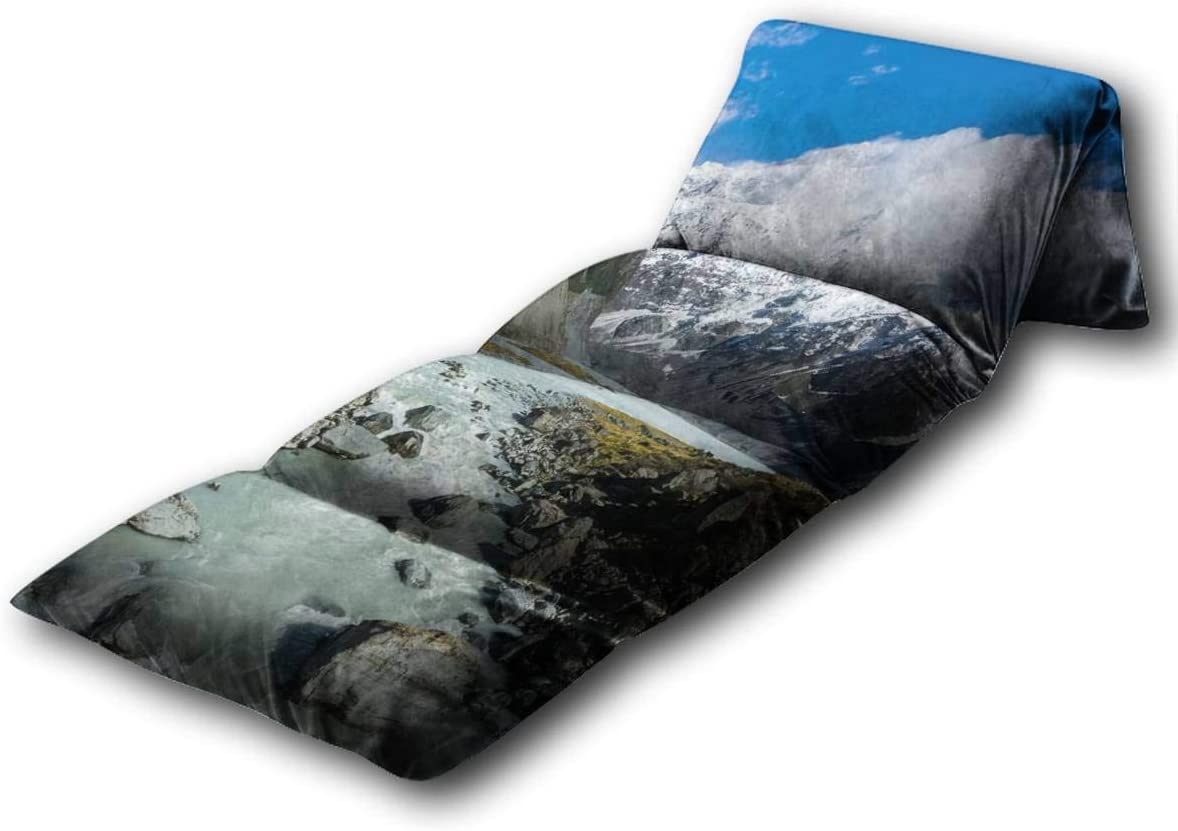 Kids Gorgeous Floor Limited price Pillow BedGlacier Lake Bed,Por StreamHome and