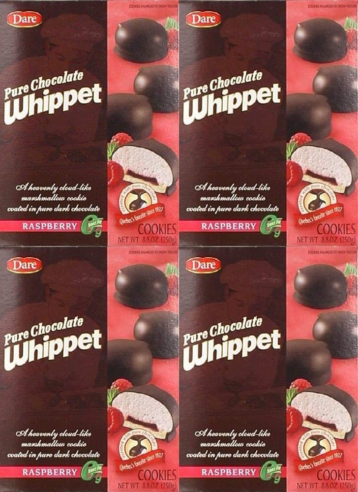 Dare Cookie Whippet Raspberry 8.8 Free shipping anywhere in the nation Popular products 4 Pack of oz