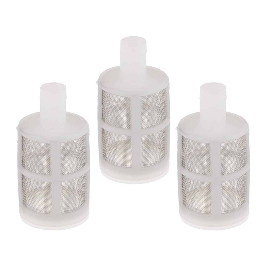 バケット余韻儀式D DOLITY ダイヤフラムポンプフィルター 3個セット 水中ポンプフィルタ 口径 10mm 7-10mm 内径ホース適用