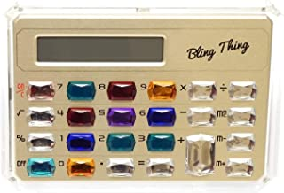 Gemstone Pocket Calculator in Gold