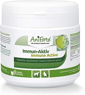AniForte Immun Aktiv für Hunde & Katzen 250g - Kräutermischung für mehr Vitalität & Wohlbefinden, natürliche Abwehrkraft, Stärkung des Immunsystem, reich an Mineralien, ohne künstliche Zusätze, Natur