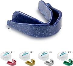 10x juego Protector/Protector de boca dientes Protector/Protector Bucal–Mixed Sparkles, oro, plata, azul, verde y rosa, bucal, CE aprobado, ideal para el deporte escolar