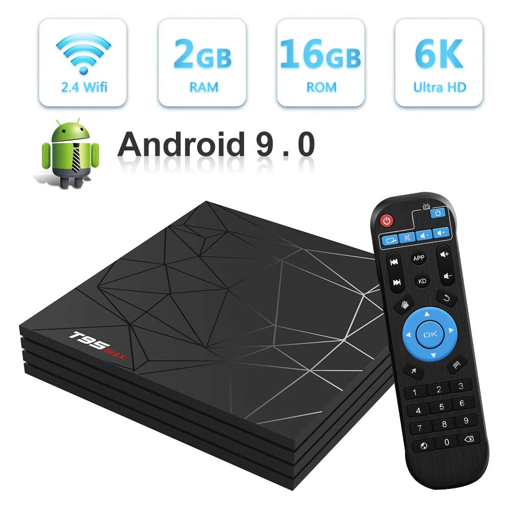T95Z Max con Android 7.1, reproductor Amlogic S912 2GB + consola multimedia 16GB, Octa Core 2.4