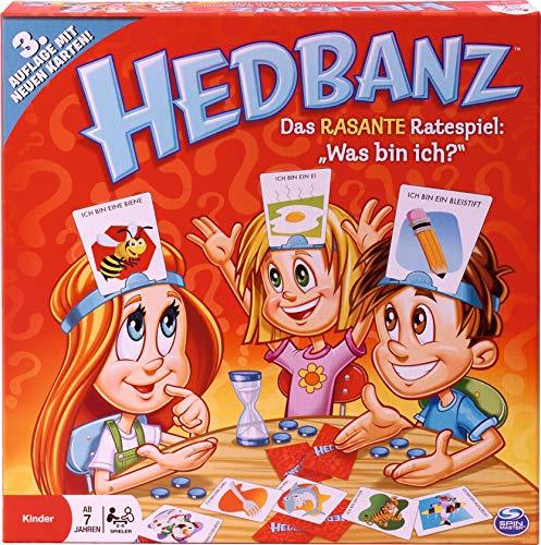 Hedbanz - Juego de mesa (Spin Master Games) [versión surtido]