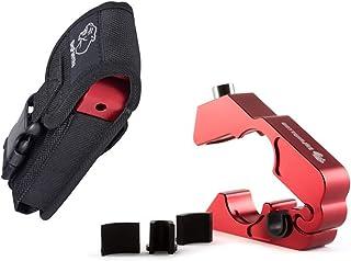 BigPantha #1 Motorcycle Lock – A Grip / Throttle / Brake / Handlebar Lock to Secure..