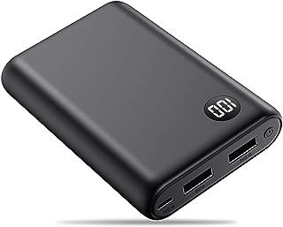 モバイルバッテリー 軽量 小型 13800mah 持ち運び充電器 LCD残量表示 携帯充電器 急速充電 2台同時充電
