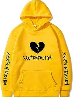 Yanlian1 Men Women Hoodies Sweatshirt Casual Pullover Streetwear Hip Hop Print Hoodies,Navy Blue 28,XXL