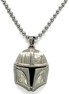 Jewelry by Jules Star Wars: Episode IX Pendant Necklaces: May The Force Be with You with Red or Blue Light Sabers
