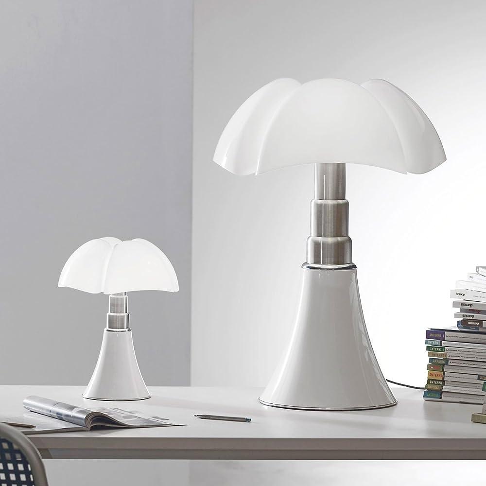 Martinelli luce mini pipistrello touch,lampada da tavolo led,dimmerabile, cordless, con batteria ricaricabile 620/J/DIM/T/BI