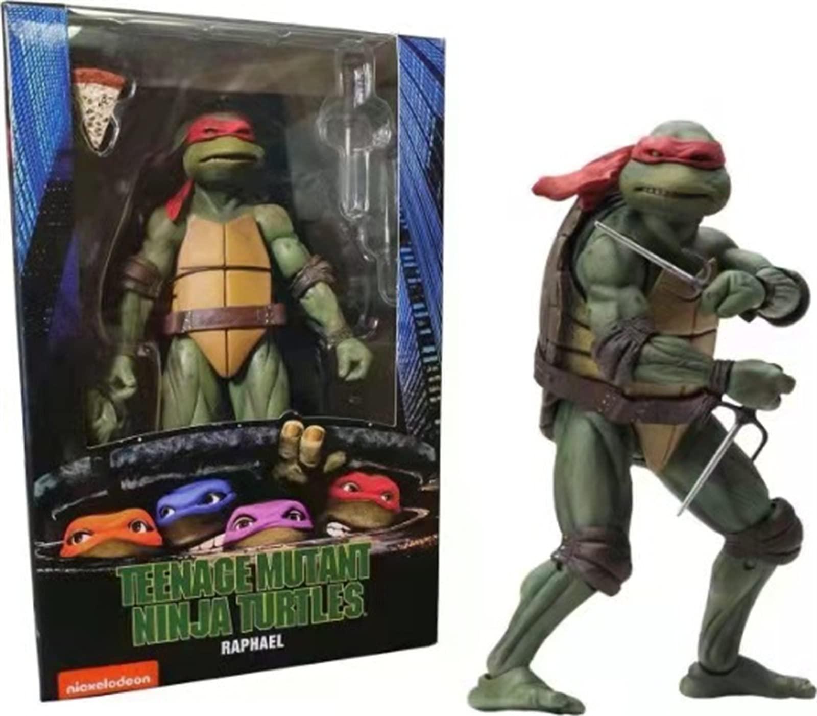 Toyskys-Teenage Mutant Ninja Turtles--90's Movie Raphael 6-inch Action Figure-2019 GameStop Exclusive (4 Colors)
