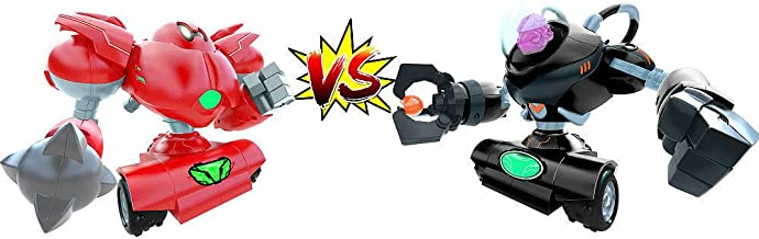 Cepia Big Fighting Robots with Motion Responsive Two-Handed Controller pack of 2 - Big NineBrain and Tenderizer