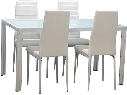 Amazon.it: Vetro - Tavoli da sala da pranzo / Sala da pranzo: Casa e ...