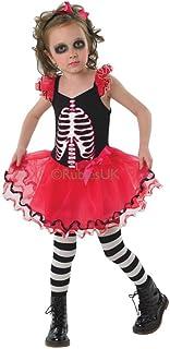 Rubies Skull Tutu - Kids Costume 7 - 8 years