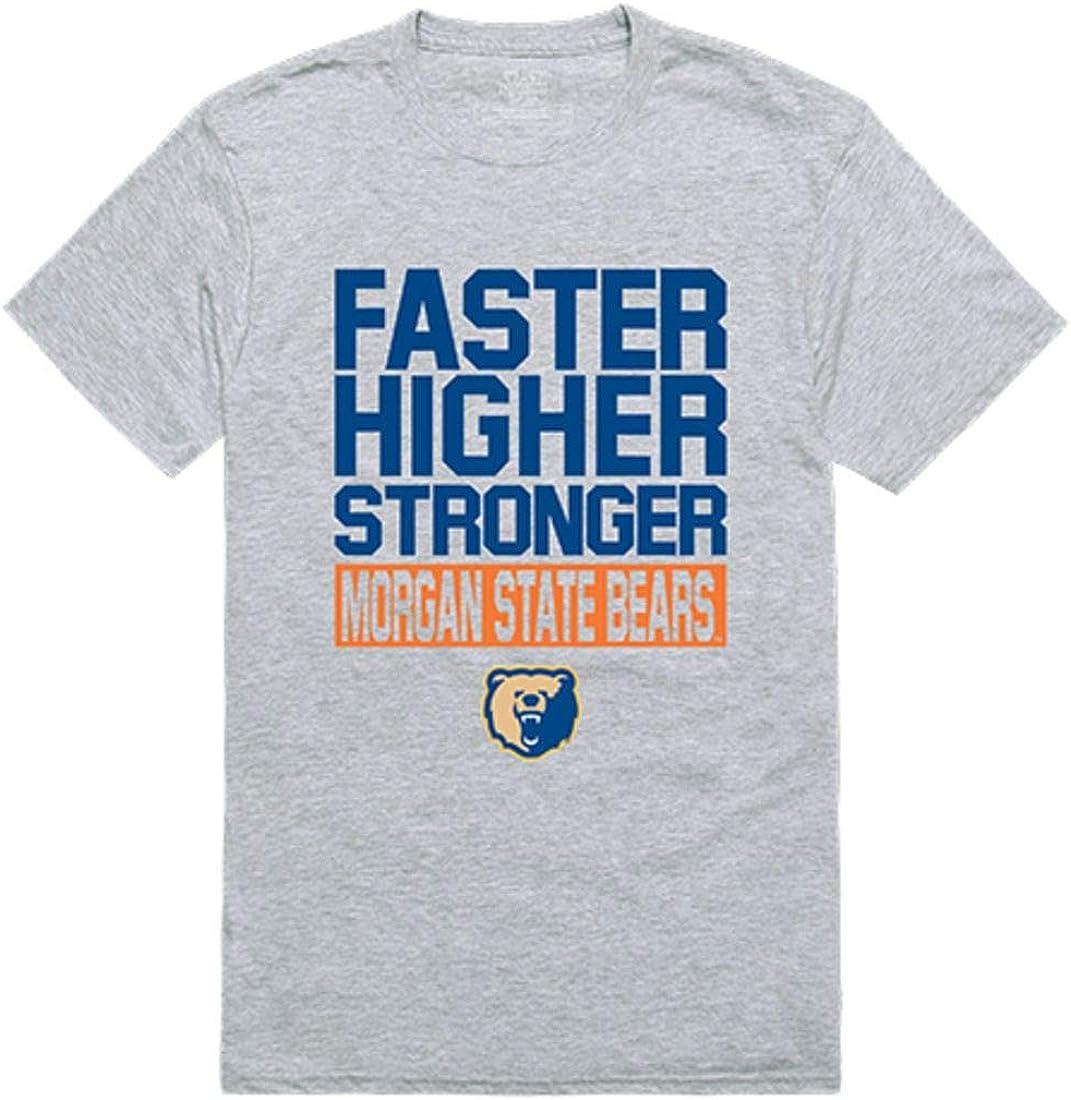 Morgan State University Bears NCAA unisex Ranking TOP3 Workout Tee G T-Shirt Heather
