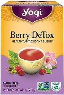 Yogi Herbal Tea Bags, Berry DeTox 16 ea