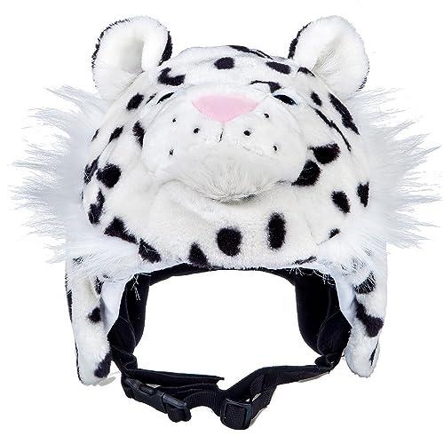 8aa8af8113934 CrazeeHeads Zippy The Snow Leapord Helmet Cover Kids